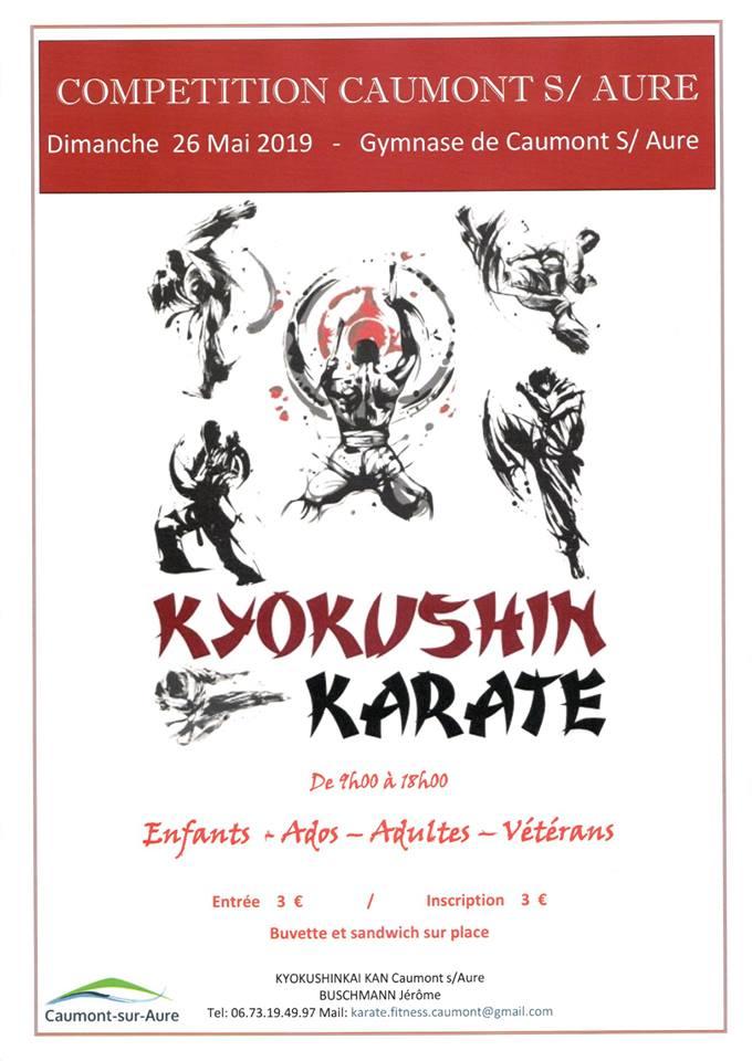 Compétiton Caumont Sur Aure Kyokushin