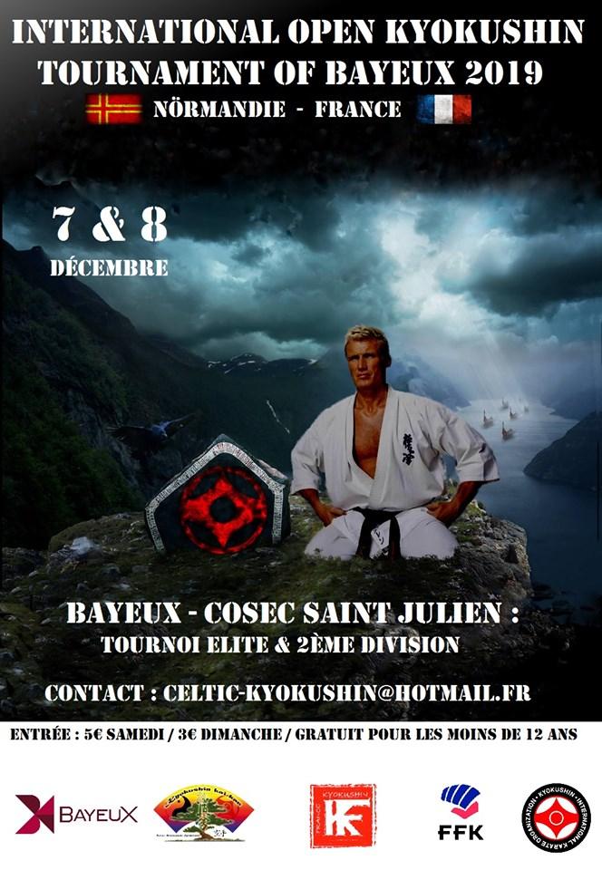 Open de Bayeux Kyokushin 7 & 8 Décembre 2019