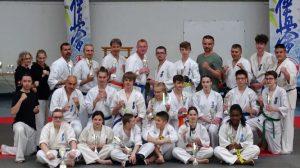 Les résultats de la compétition de Kyokushin de  Caumont Sur Aure Dimanche 26 Mai 2019