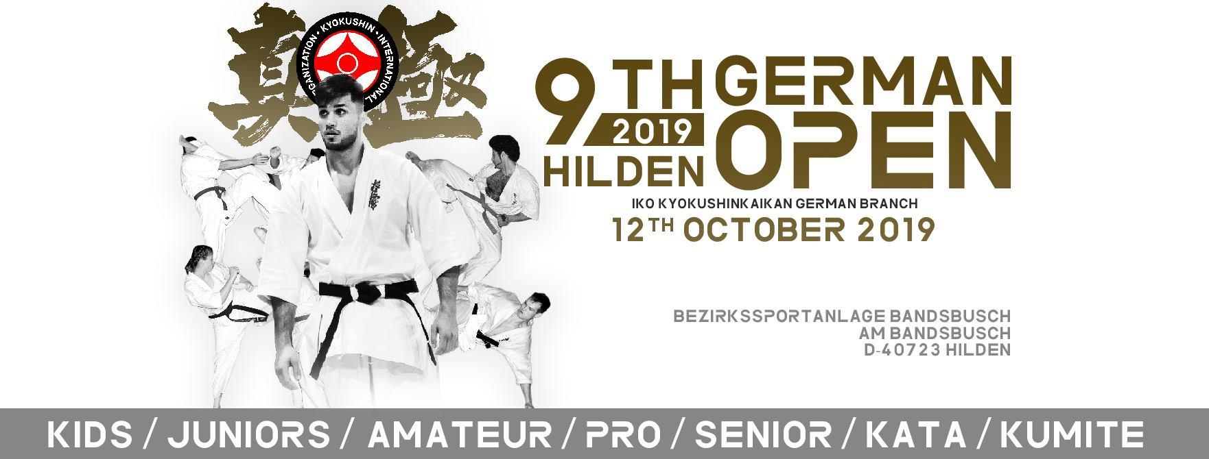 Résultat Open International Allemagne Kyokushin 2019